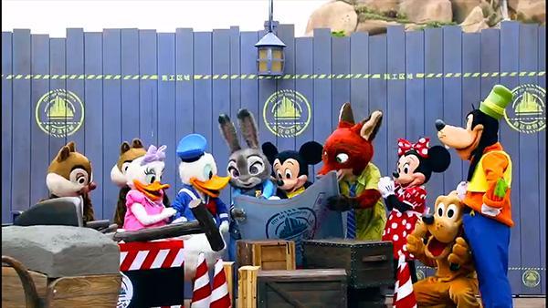 """朱迪、尼克来了!上海迪士尼""""疯狂动物城""""园区启动主要施工"""