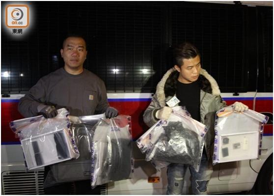 香港一中学附近现土制炸弹,内藏化学品及铁钉,专家称百米内可致命
