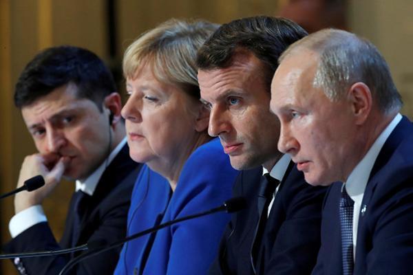 诺曼底模式峰会成果盘点:俄乌承诺年底停火换俘,但分歧犹存