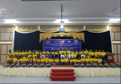 缅甸杂交水稻技术海外培训班在内比都结业