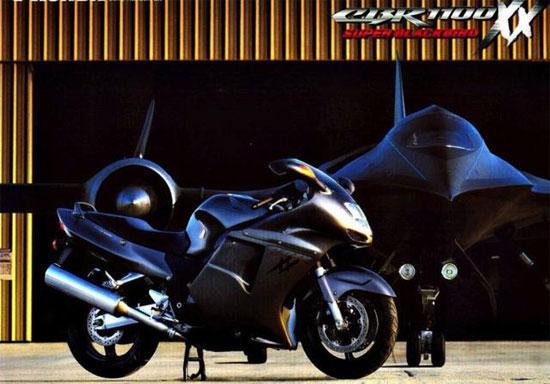 本田新车引猜测 可能复活超级黑鸟