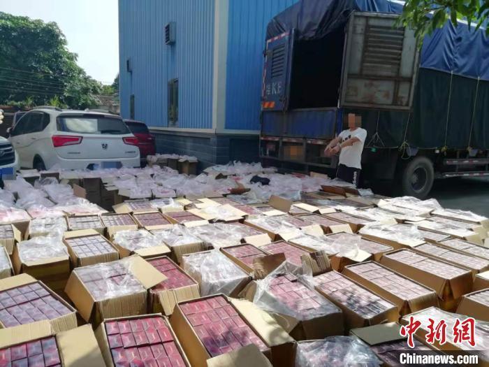 广西防城港警方破获特大烟草走私案 抓获8名嫌疑人