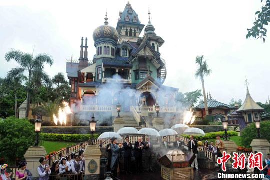 香港迪士尼:内地海外游客减少 推吸引本地游客新菜式