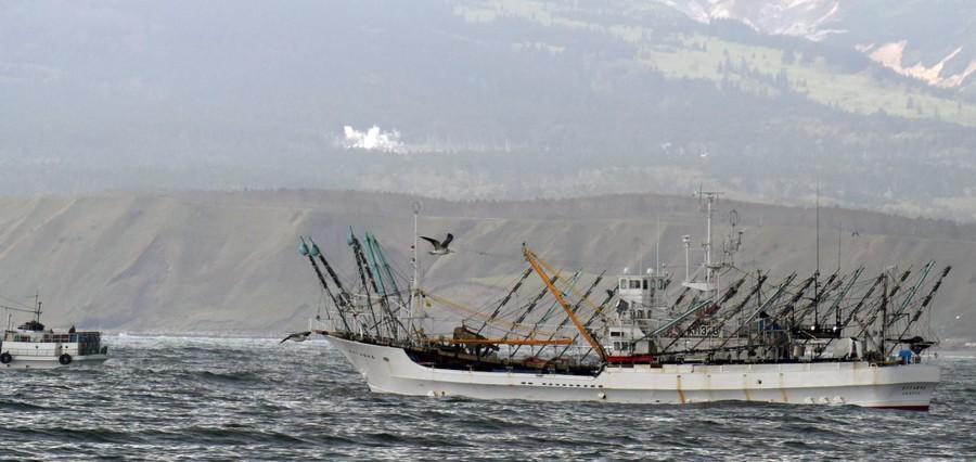 俄罗斯扣押5艘日本渔船 称其违反渔业协定