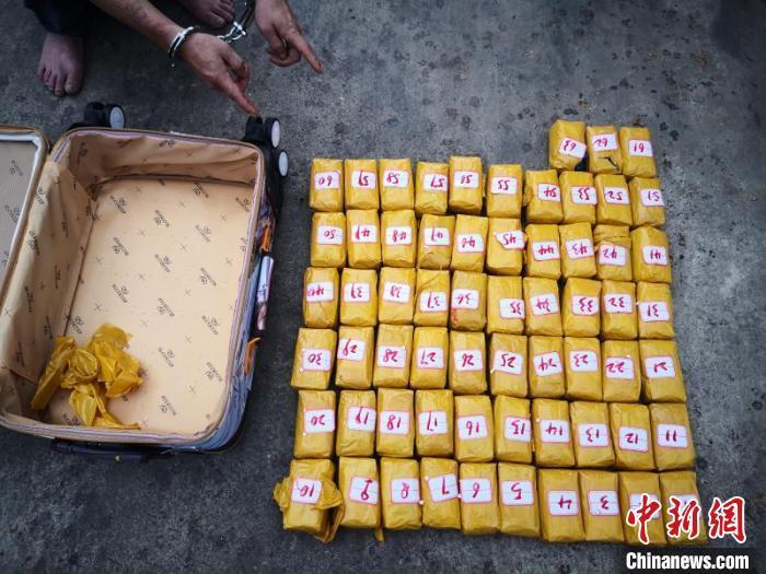 云南临沧边境管理支队2019年缉毒突破2吨