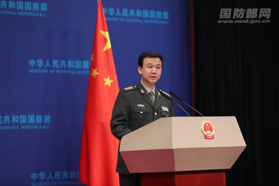 国防部:如有人硬要把中国逼成对手,中国定是合格对手