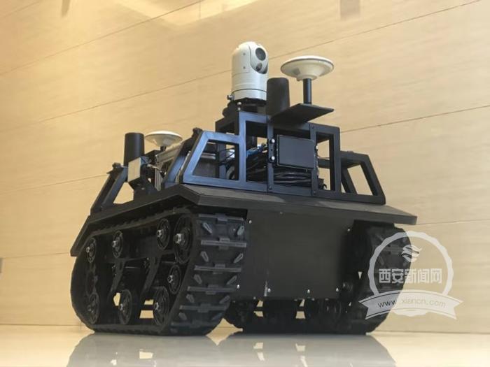 """西安""""AI装备""""新军 雷神地面无人装备研发及工程化能力居全国最前列"""
