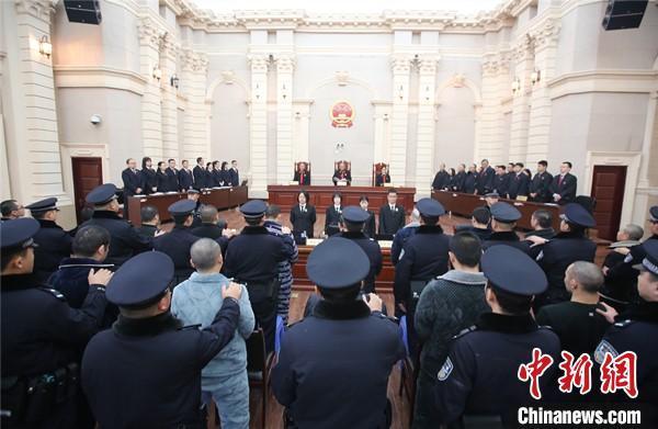 """四川:38人黑社会性质组织案一审宣判 """"黑老大""""获刑25年"""