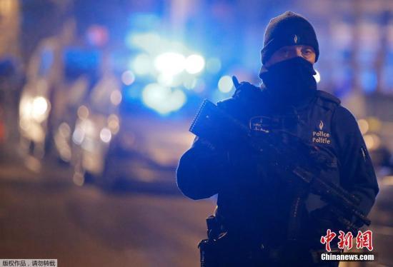 比利时首都跨年夜重兵设防 零容忍任何挑衅保障治安