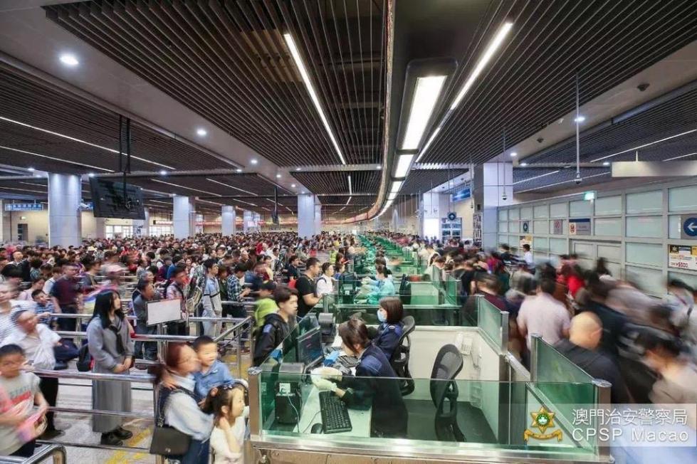 澳门出入境总人次数量再创新高,已连续7年增长