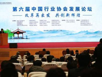 第六届中国行业协会发展论坛在济南召开
