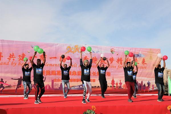 驻科威特中国企业举办长跑活动喜迎新年