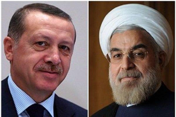 伊朗总统鲁哈尼与土耳其总统埃尔多安通电话