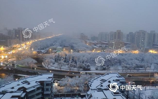 强雨雪区域南压!河南山东局地强降雪或破历史纪录
