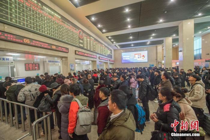 铁路春运售票第26日售出车票1400多万张