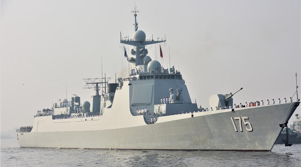 中巴海军联演在卡拉奇开幕 我军052D舰率队参演