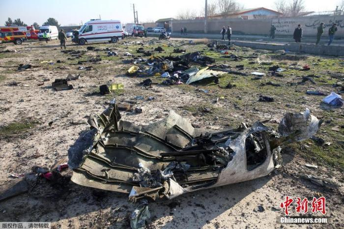 否认乌航客机被导弹击落 伊朗要求他国提供更多情报