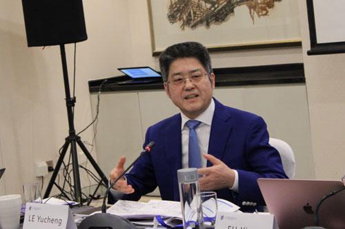 外交部副部长乐玉成:中美关系新年要有新气象