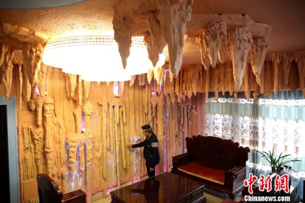 这是盘丝洞吗?不,这是我刚装修好的家……