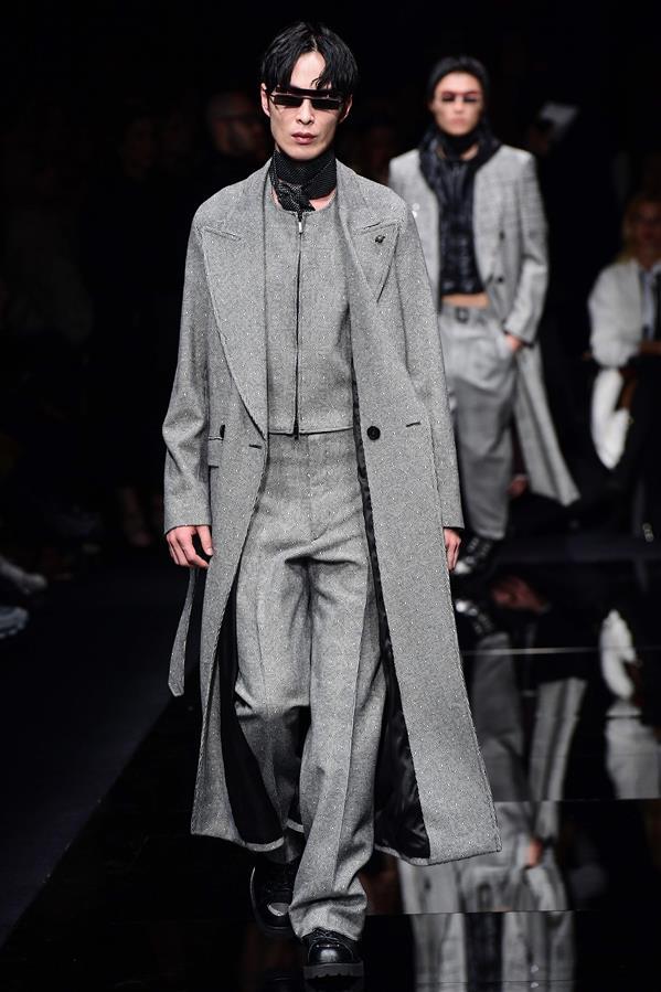 米兰男装周——安普里奥·阿玛尼品牌时装秀