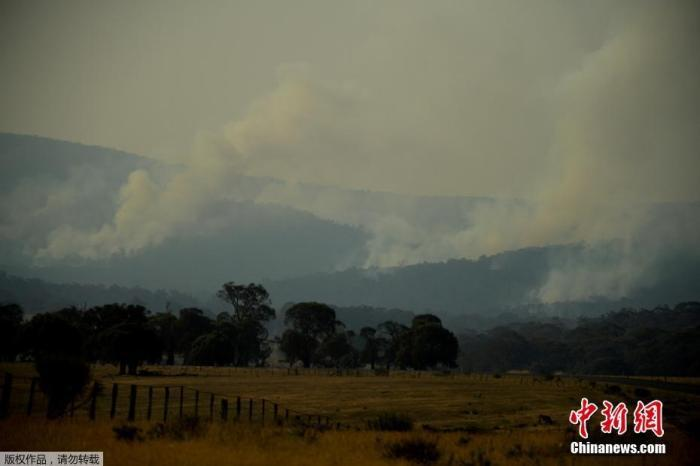 澳山火引发空气污染 澳网公开赛多位运动员受影响
