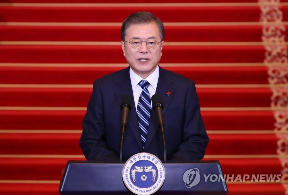 韩国政府考虑优先放开散客赴朝探亲,文在寅:不违反对朝制裁