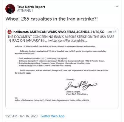 伊朗实际上击杀了上百名美军士兵,但被美国掩盖了?