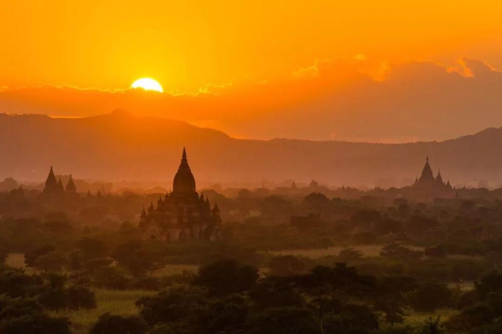 这里是缅甸!