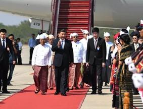 习主席新年首访,缅甸最高规格迎接!