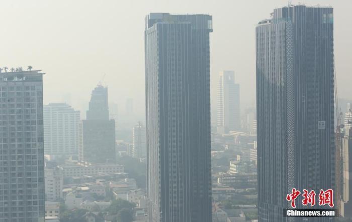 泰国曼谷空气污染严重 大型基础设施暂停施工三天