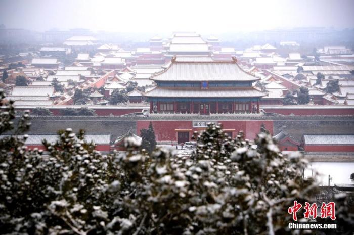 2月6日北京阴有小雪转多云 道路结冰黄色预警中