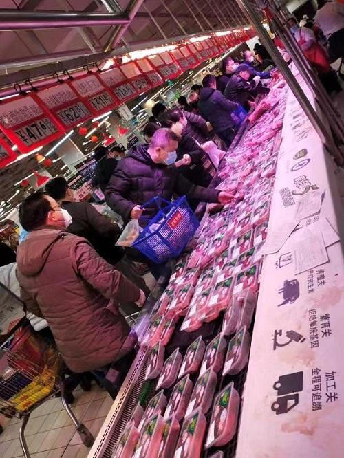 中粮肉食扩产能保武汉鲜肉供应