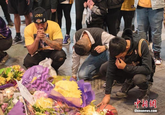 消息人士:洛杉矶斯台普斯中心24日举行悼念科比活动