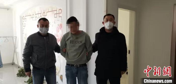 内蒙古一男子利用疫情诈骗 被抓后竟出现高烧症状