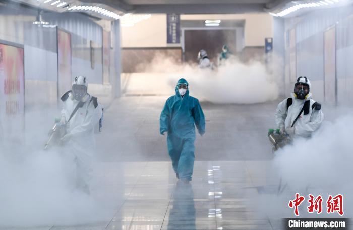 """湖南新增新冠肺炎病例降至3例 消杀产品基本满足抗""""疫""""需求"""