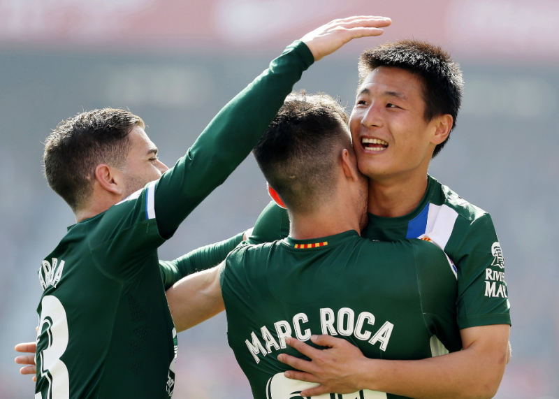 时隔7轮武磊归来 收获加盟西甲首粒客场进球