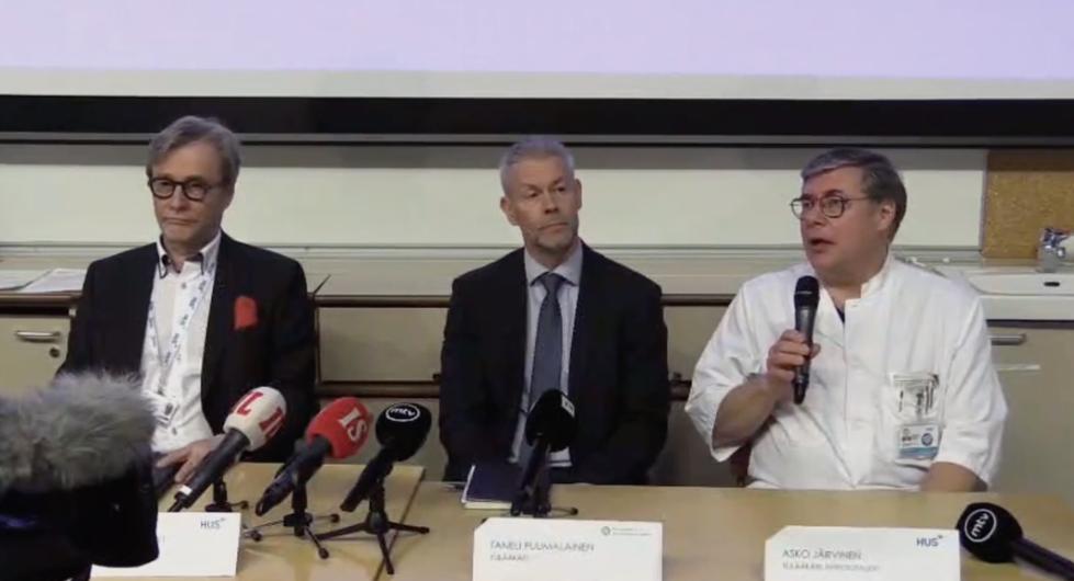 芬兰确诊首例新冠肺炎病例