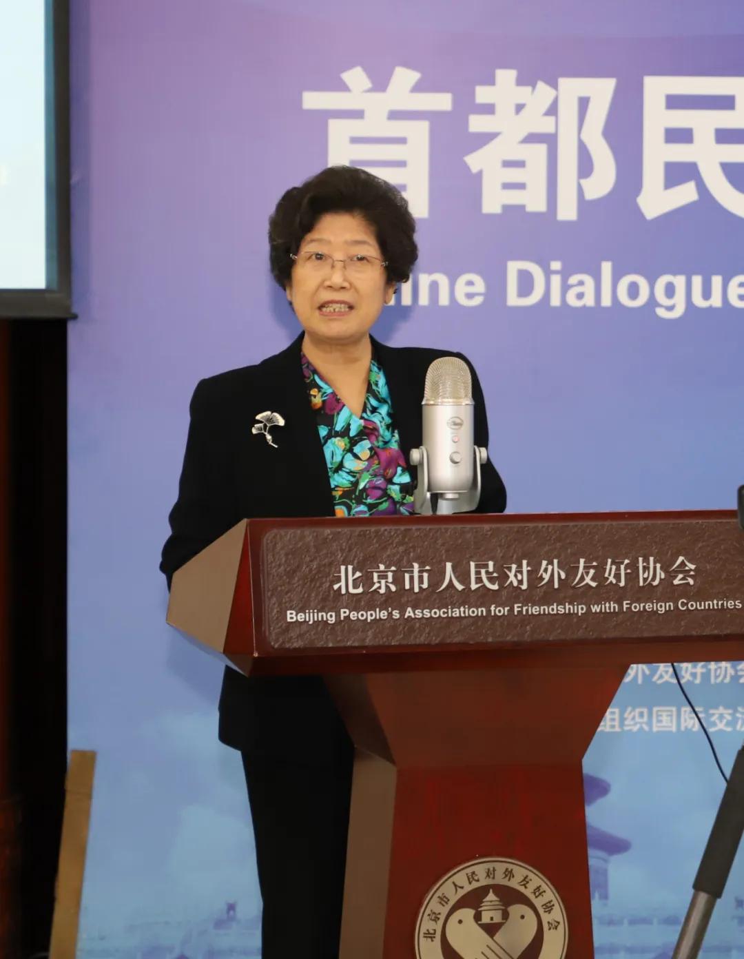 首都民间国际交流与合作云对话在北京举行