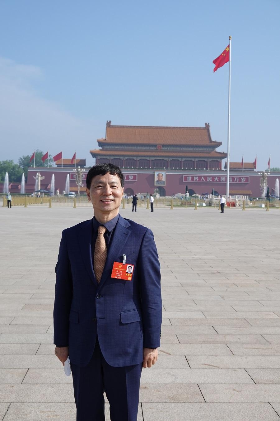 """全国人大代表:""""港版国安法""""对解决台湾问题具有借鉴意义"""