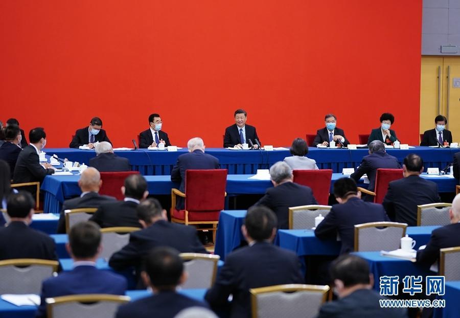 习近平总书记同全国政协委员共商国是并回应经济社会发展热点问题