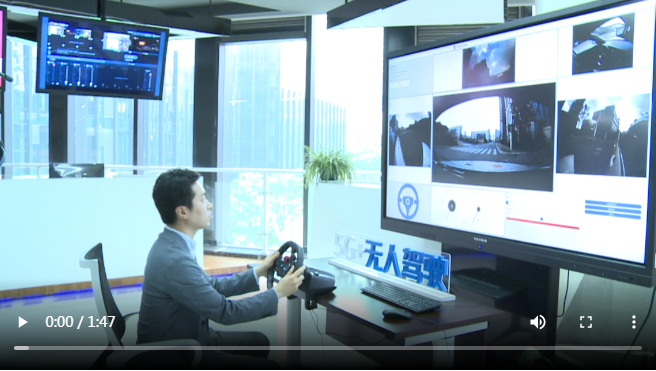 韩国东亚日报记者亲身体验5G+无人驾驶