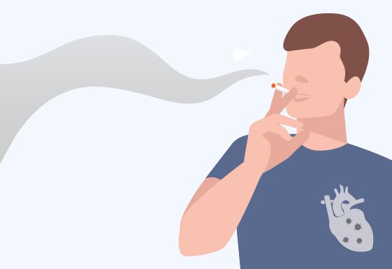 「一根烟」带来7种心脑血管病!你抽的每一口烟,都在消耗你的心脏……