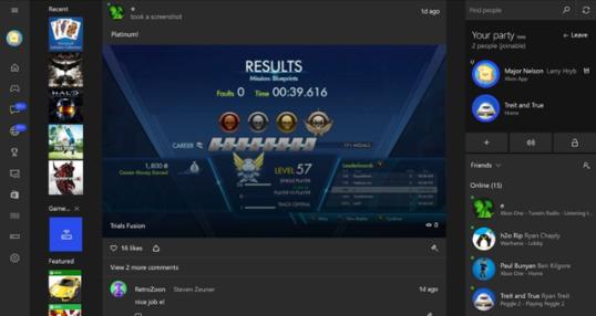 Win10版Xbox One支持群组聊天与游戏串流
