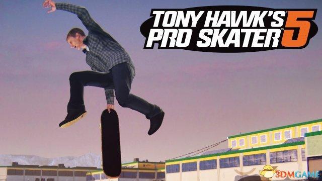 Robomodo公司《托尼霍克滑板5》主机版今日发售