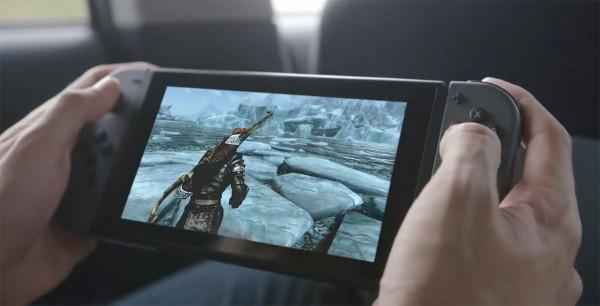 """任天堂二合一便携游戏机""""Switch""""图赏"""