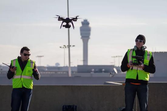 美联邦航空局首批无人机可在机场作业