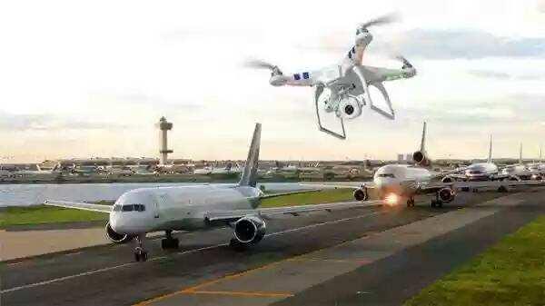 违规在机场附近 用无人机可处拘留