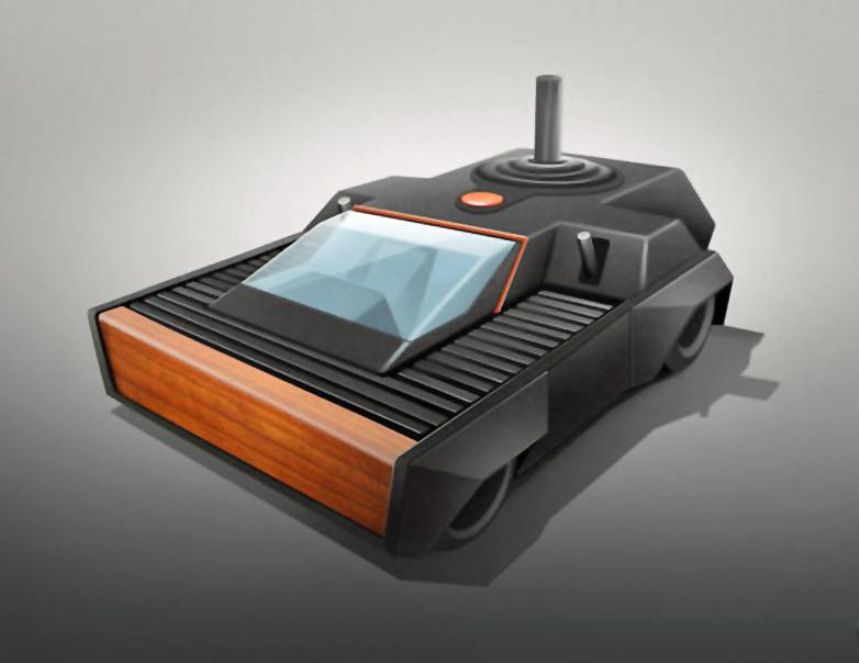 当游戏机变成跑车 你想开辆任天堂还是Xbox