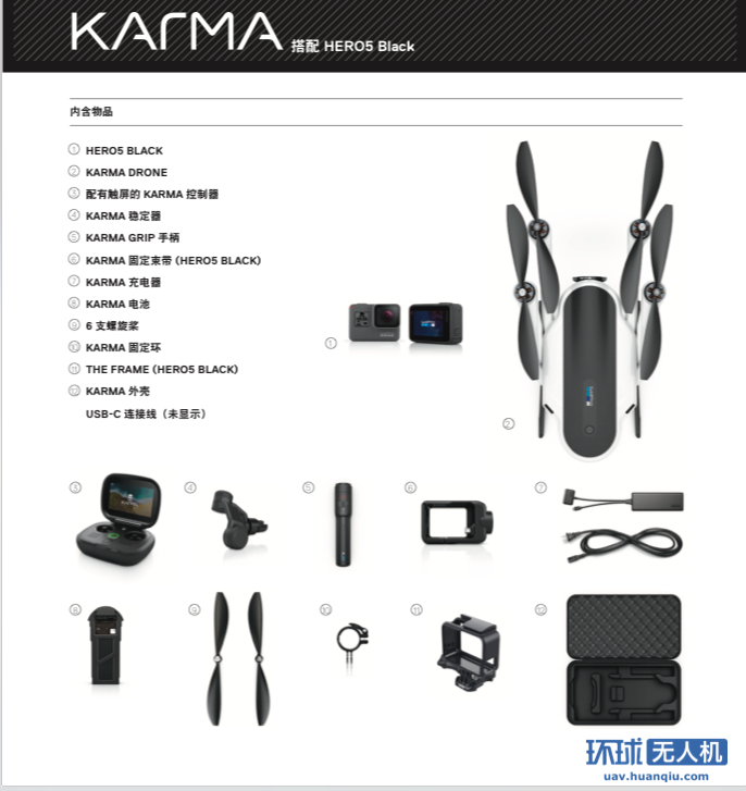 GoPro KARMA 初体验 一整套1万左右值不值得买