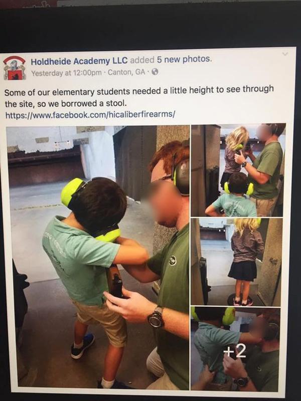 美幼儿园组织幼童户外实弹演练引家长强烈谴责